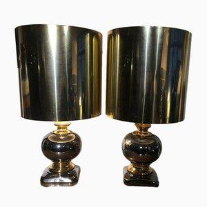 Lámparas de mesa vintage, años 70. Juego de 2