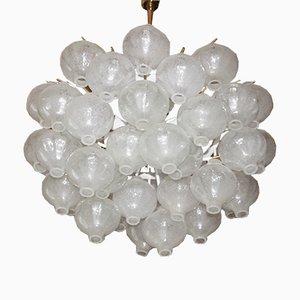 Lámpara de araña vintage de J. T. Kalmar, años 50