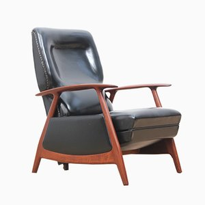 Vintage Scandinavian Lounge Chair, 1950s