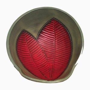Cuenco de cerámica de Elchinger, años 50
