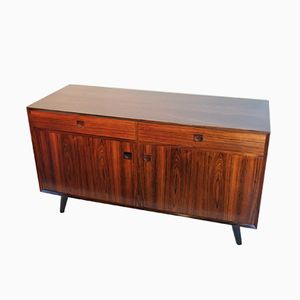 Vintage Danish Palisander Low Sideboard from Brouer Møbelfabrik