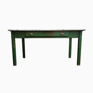 Mesa de taller industrial vintage