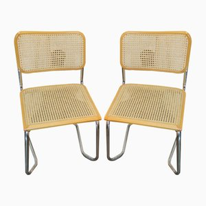Vintage Side Chairs by Marcel Breuer, 1979, Set of 2