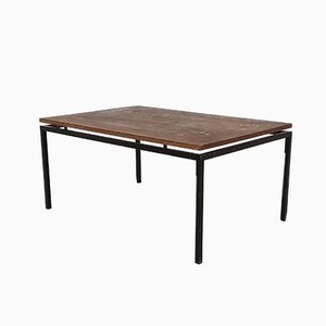 Wenge & Metal Coffee Table, 1950s