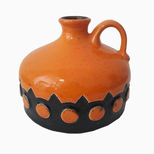 Keramikvase von Jasba, 1970er