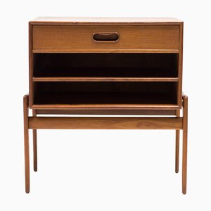 Vintage Teak Nightstand by Arne Vodder for Vamo Sonderborg