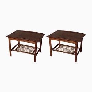 Tavolini vintage di Folke Ohlsson per DUX, anni '50, set di 2