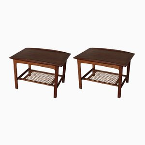 Vintage Side Tables by Folke Ohlsson for DUX, 1950s, Set of 2