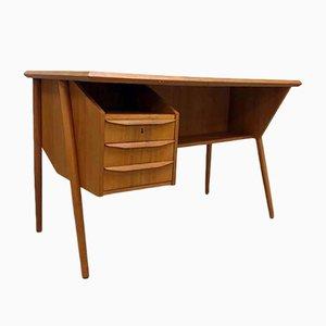 Danish Mid-Century Desk by Gunnar Nielsen Tibergaard, 1950s