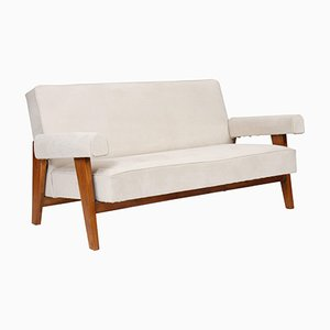 Lounge Sofa from Le Corbusier and Pierre Jeanneret, 1955