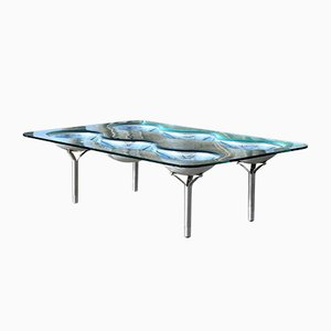 Konx Coffee Table by Ron Arad for Fiam, 1990s