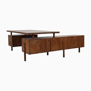 Executive Administrative Desk by Pierre Jeanneret, 1956