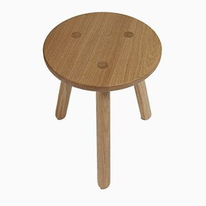 Natural Oak Side Table One by Another Country