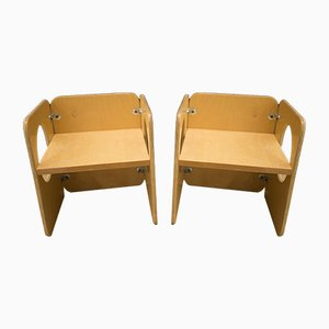 Vintage Vanikka Childrens Chairs by Kristian Gullichsen, Set of 2