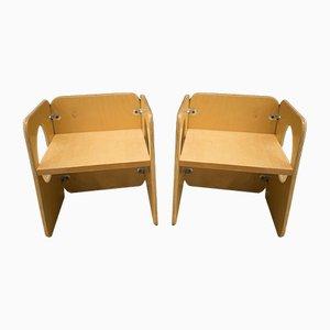 Vintage Vanikka Kinderstühle von Kristian Gullichsen, 2er Set