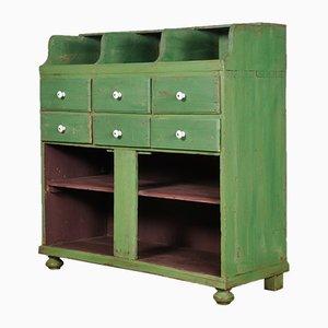 Mueble de tienda industrial vintage, años 30