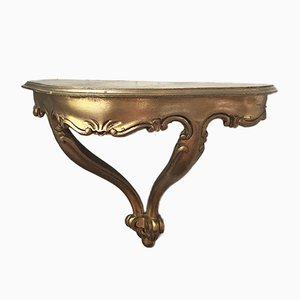 Antikes Regal aus Blattgold