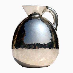 Silberne italienische Kanne, 1930er