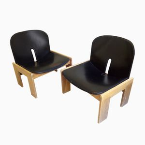 925 Chairs by Afra & Tobia Scarpa for Cassina, 1960s, Set of 2