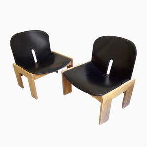 Chaises 925 par Afra & Tobia Scarpa pour Cassina, 1960s, Set de 2