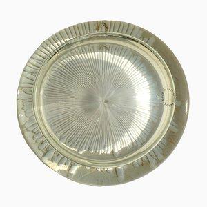 Fermacarte in vetro di Murano di Diaz De Santillana per Venini, anni '60