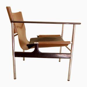 Sedie a dondolo nr. 657 vintage di Charles Pollock per Knoll