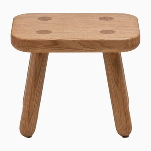 Petit Tabouret pour Enfant One en Chêne Naturel par Another Country