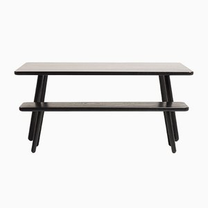 Small Black Ash Dining Table One by Another Country