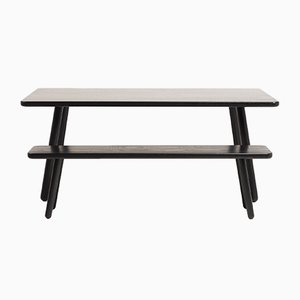 Medium Black Ash Dining Table One by Another Country