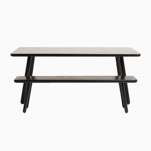 Mesa de comedor Dining Table One grande de fresno negro de Another Country