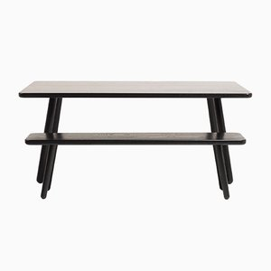 Extra Large Black Ash Dining Table One by Another Country