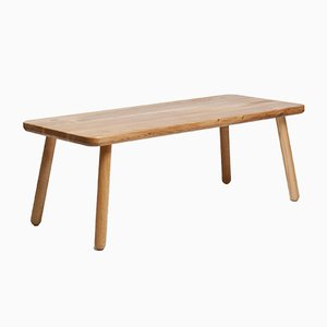 Table Basse Rectangulaire One en Chêne Naturel par Another Country