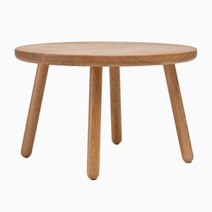 Round Ash Coffee Table One from Another Country