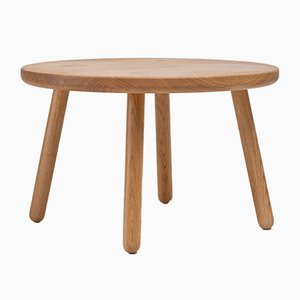 Table Basse Ronde One en Chêne par Another Country