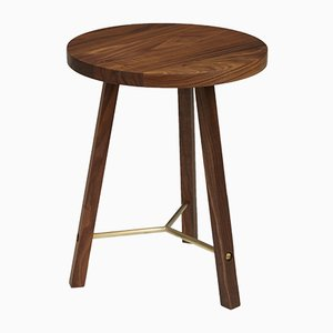 Table d'Appoint Two en Noyer par Another Country