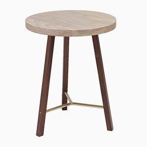 Ash & Walnut Side Table Two by Another Country