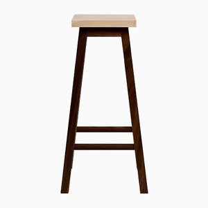 Ash & Walnut Bar Stool Two by Another Country