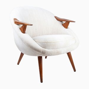 Vintage Scandinavian Lounge Chair
