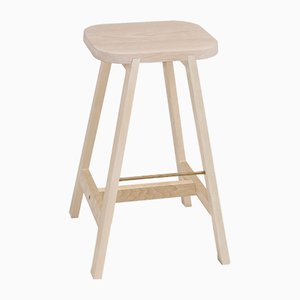 Beech Bar Stool Three by Another Country