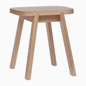 Tabouret Three en Chêne par Another Country
