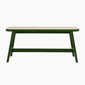 Oxford Green Beech Mini Bench Three by Another Country