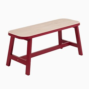 Wellington Red Beech Mini Bench Three by Another Country