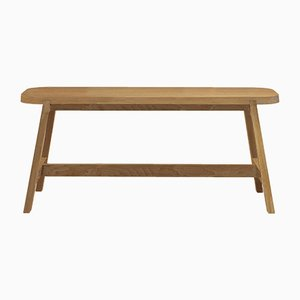 Small Oak Bench Three by Another Country