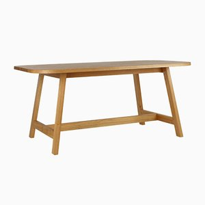 Dining Table Three in Oak by Another Country