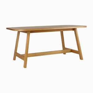 Large Oak Dining Table Three by Another Country