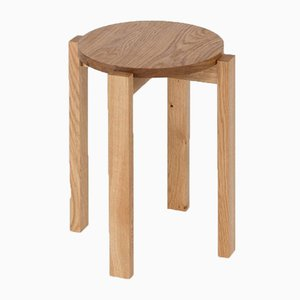 Oak Stool Four by Another Country