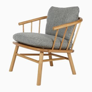 Oak Hardy Armchair with Cushions by Another Country