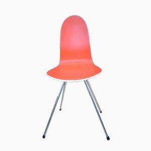Vintage Stuhl in Zungen-Optik von Arne Jacobsen für Fritz Hansen