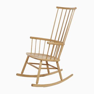 Rocking Chair Hardy en Chêne par Another Country