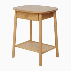 Oak Hardy Side Table with Drawer by Another Country